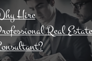 Why to hire professional real estate consultant
